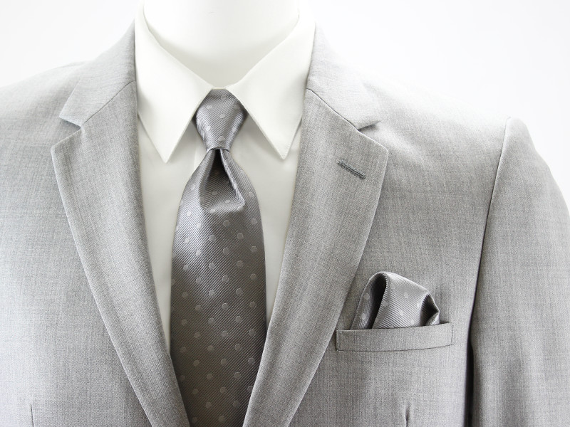 Allure Dot Windsor Tie and Pocket Square